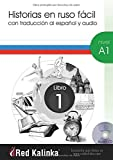 Stories in easy Russian. A1 level. 1 Book: With Spanish translation and audio