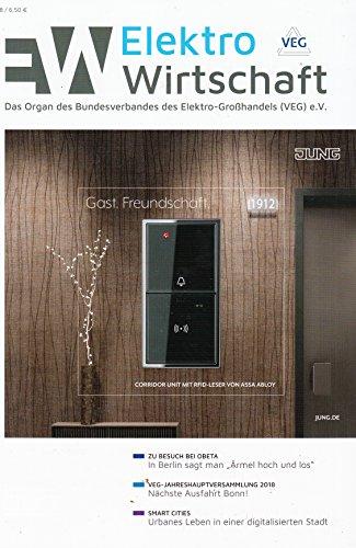 Elektro Wirtschaft 6 2018 Smart Cities Zeitschrift Magazin Einzelheft Heft VEG Großhandel