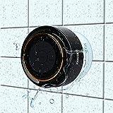 Bluetooth-Duschlautsprecher, Haissky Portable Bluetooth Lautsprecher tragbarer Waterproof Wireless Speaker Wasserdicht mit Radio FM,Saugnapf,Freisprecheinrichtung, inteagriertes Mikrofon -