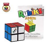 Rubik's cube   puzzle de poche 2x2 classique de correspondance de couleurs, un jouet puzzle casse-tête, avec son Guide de poche