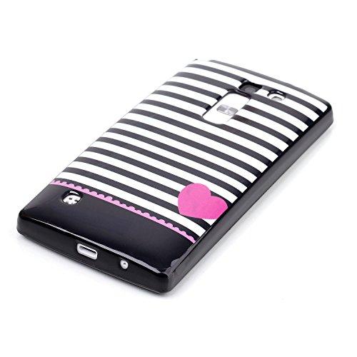 Voguecase® Pour Apple iphone 5C, TPU Silicone Shell Housse Coque Étui Case Cover (Stripe 02)+ Gratuit stylet l'écran aléatoire universelle Stripe 02