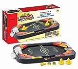 Neo Toys- Jeu de société: Deux en Un Air Hockey Pinball, 45788
