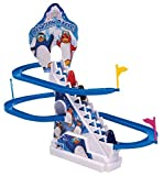 Bigsavings Funny Penguin Battery Operated Race Toy(Multicolor)
