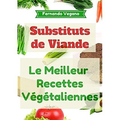 Substituts de Viande: Recettes faciles et rapides  (Français-Anglais)