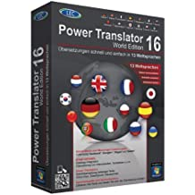 Power Translator 16 World Edition. Für Microsoft Windows® 8, 7, Vista(TM) und XP in den Varianten (32-/64-bit) [import allemand]