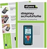 dipos I 3X Schutzfolie matt passend für Bosch Professional GLM 50 Folie Displayschutzfolie