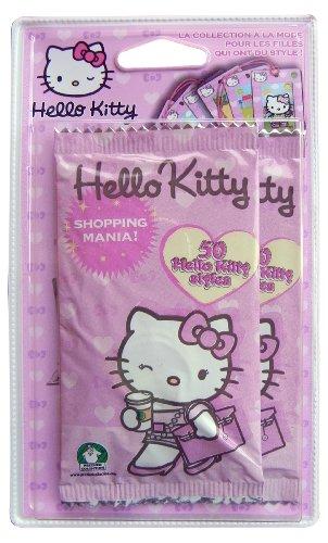 Ciao Kitty - BLSH - Gioco di società - blister 2 Borse - Shopping (Ciao Kitty Carta)