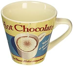 Martin Wiscombe Stoneware Hot Chocolate Mug, Assorted