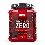 Prozis Zero Whey Protein Isolate Powder 750g - Meilleur Parfum Fraise pour la Perte de Poids, la Récupération Musculaire et le Culturisme - Faible en Glucides - 30 Doses