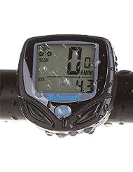 Fahrradcomputer, Blusmart Drahtloser LCD Fahrrad Tachometer Auto Wake Up Backlight für Ttracking Geschwindigkeit und Distanz, Wasserdicht