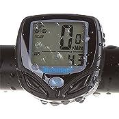 Blusmart SD-546C, Fahrradcomputer, Blusmart Drahtloser LCD Fahrrad Tachometer Auto Wake Up Backlight für Ttracking Geschwindigkeit und Distanz, Wasserdicht