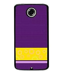 Fuson Designer Back Case Cover for Motorola Nexus 6 :: Motorola Nexus X :: Motorola Moto X Pro :: Google Nexus 6 (lotus sunflower rangoli artwork)