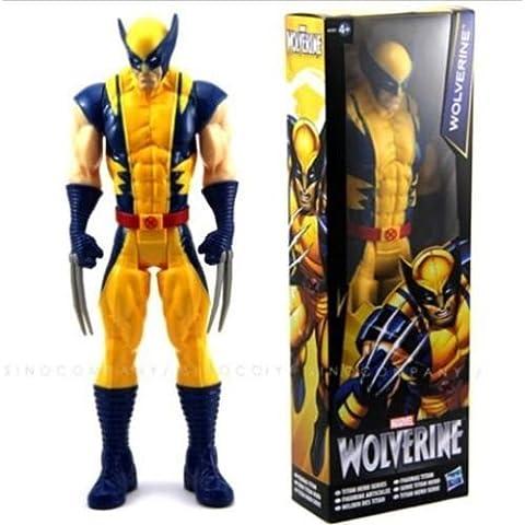 Nuevos X-men Wolverine Titan héroe serie figura Vengador 12 pulgadas figura de acción