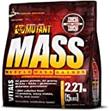 Mutant Mass Muscle Mass Gainer, Triple Chocolate, 2.27 Kg (5 Lbs)