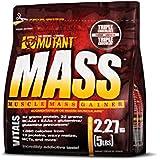 Mutant Mass Muscle Mass Gainer, Triple Chocolate, 2.27 Kg (5 Lbs)