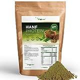 Vit4ever Hanfprotein Pulver - 1100 g / 1,1 kg - 50% Proteingehalt - Laborgeprüfte Premium Qualität...