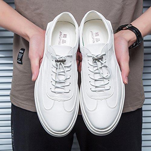 La nuova Air scarpe scarpe maschio All-Match coreano Uomini Casuale Calzature Calzature sportive white