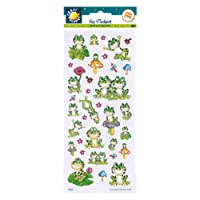 Craft Planet Fun Stickers - Frogs