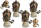 Unbekannt 4 Stück Bundeswehr Schutzmaske M65 mit Filter gebraucht Gasmaske ABC-Ausrüstung