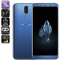 Routinfly MEIIGOO S8 Smartphone Android 7.0 Dual-IMEI-CPU Octa-Core-RAM 4 GB 6.1 Zoll (Blue) preisvergleich bei billige-tabletten.eu