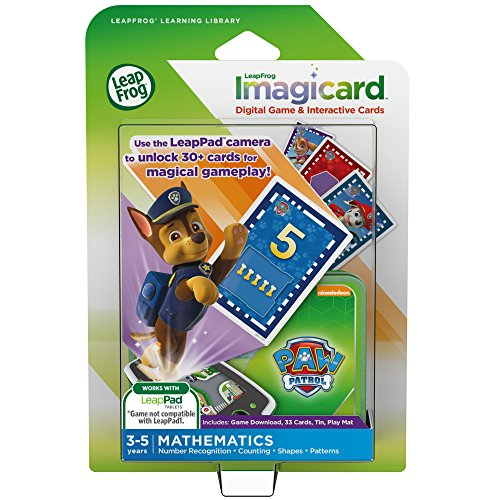 LeapFrog PAW Patrol Imagicard Learning Game (for LeapPads and LeapFrog Epic)