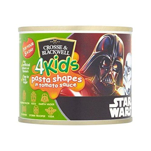 Crosse & Blackwell 4 Kids Disney Star Wars Teigwarenformen 213G - Packung mit 2 (Crosse Und Blackwell)