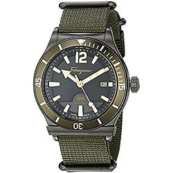 Salvatore Ferragamo Timepieces Reloj de cuarzo Man Oliva 43 mm
