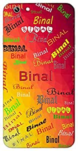 Binal (Princess) Name & Sign Printed All over customize & Personalized!! Protective back cover for your Smart Phone : Apple iPhone 5/5S