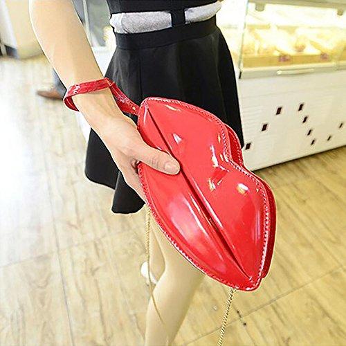 Tong Yue , Damen Clutch, schwarz (schwarz) - TYUK0485-2 rot