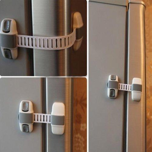 snowwer Baby Kinder Multifunktions-Kabinett Kühlschrank Lock Baby Sicherheit Produkte -