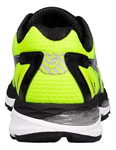 ASICS Chaussures de Course Gel Glorify 3Jaune/Bleu/Noir safety yellow/indigo blue /black