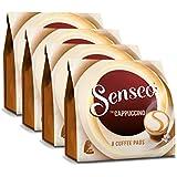 Senseo Kaffeepads Cappuccino, Milchschaumklassiker, Kaffee, neue Rezeptur, 4er Pack, 4 x 8 Pads