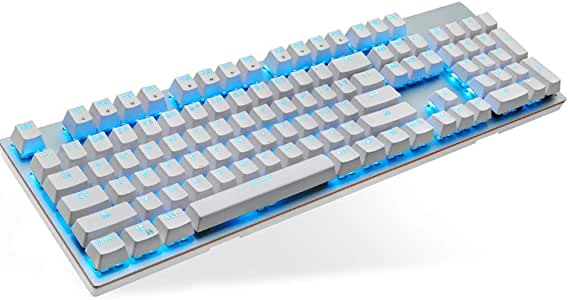 Jian E -/& Wireless Keyboard E-Sports Games Office Desktop Laptop Keyboard Mouse Set USB Interface //-// Color : White, Size : B
