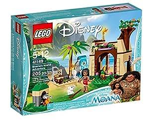 LEGO Disney Princess 41149 - Set Costruzioni L'Avventura sull'Isola di Vaiana