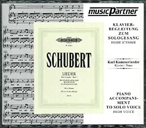 Schubert Lieder Volume 1 High Voice Piano Accompaniment