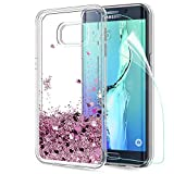 LeYi Galaxy S6 Edge Plus Case with Screen Protector, Girl