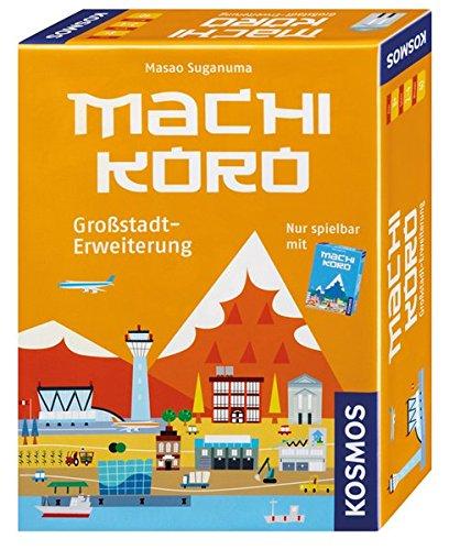 Geschenk-korb Geschenk-karte Mit (KOSMOS 692568 - Machi Koro, Großstadt Erweiterung)