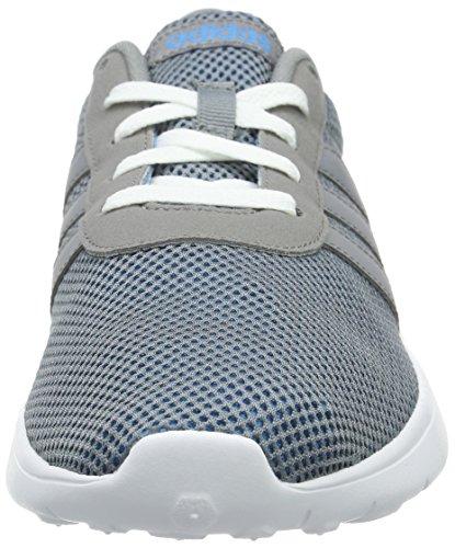 adidas Lite Racer, Scarpe da Ginnastica Uomo Grigio (Grau (Solar Blue2 S14/Grey/Ftwr White))