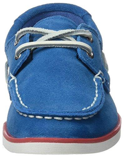 Timberland Unisex Baby Seabury Classic 2eye Boatmykonos Blue Hammer Ii Lauflernschuhe Blau (Mykonos Blue Hammer II)