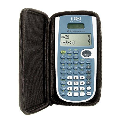 SafeCase Schutztasche für Taschenrechner von Texas Instruments, für Modell: TI 30 XS MV