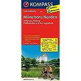 Münchens Norden - Hallertau - Freising - Pfaffenhofen a.d. Ilm - Ingolstadt: Fahrradkarte. GPS-genau. 1:70000 (KOMPASS-Fahrradkarten Deutschland, Band 3114)