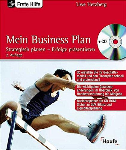 Erste Hilfe. Mein Business-Plan. par Uwe Herzberg