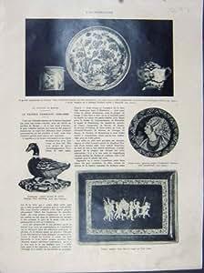 Français En Céramique 1932 de Fauchier de Faïence de Rouen Hannong
