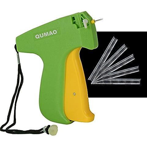 QUMAO - Pistola Sparafili Cartellini / Etichette, Etichettatrice, per Cartellinatura Manuale, Micro (Non Standard) Tagging Gun