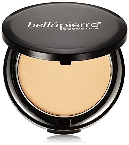 Beste Mineral Puder-make-up (BellaPierre Kompakte Mineralpuder-Foundation, 10 g, Ivory)
