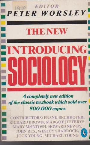 "The New ""Introducing Sociology"" (Pelican)"
