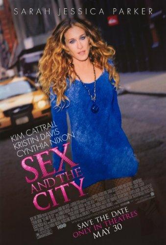 Sex And The City: The Movie Póster de película B 11x 17en-28cm x 44cm Sarah Jessica Parker Kim Cattrall Cynthia Nixon Kristin Davis Chris Noth Jennifer Hudson