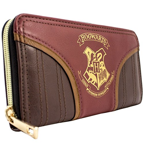 Harry Potter Hogwarts équipe Quidditch Rouge Portefeuille