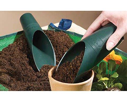 giardino-paletta-da-cucina-pet-bird-food-plastica-verde-cane-gatto-cibo-secco-misura-2-x-paletta