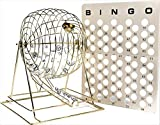 Regal Spiele Jumbo Professionelle Messing Ping Pong Ball Bingo Käfig